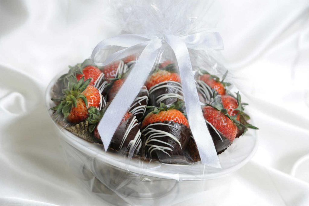 chocolate covered strawberries available at The Old Mill Toronto